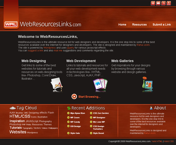 WebResourcesLinks Old