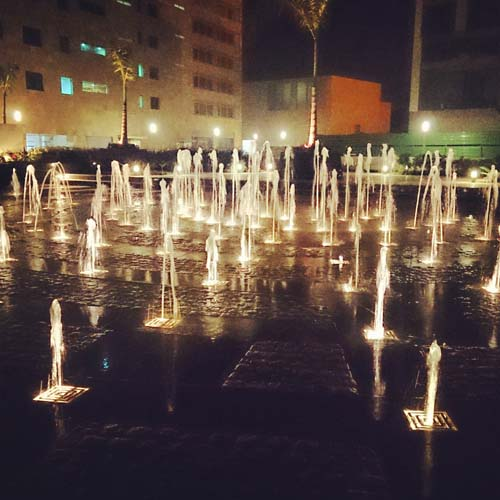 Fountains, Elante Mall, Chandigarh