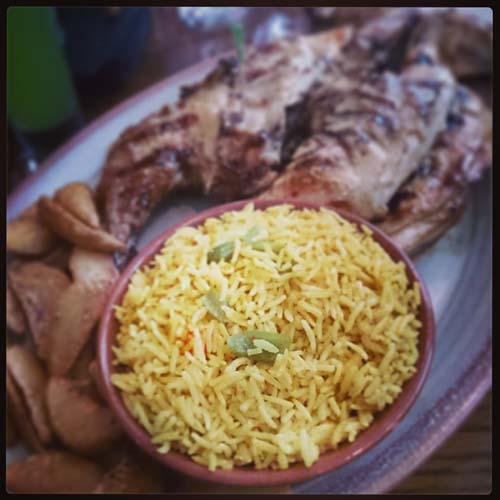 Chicken and Rice, Nando's Chandigarh