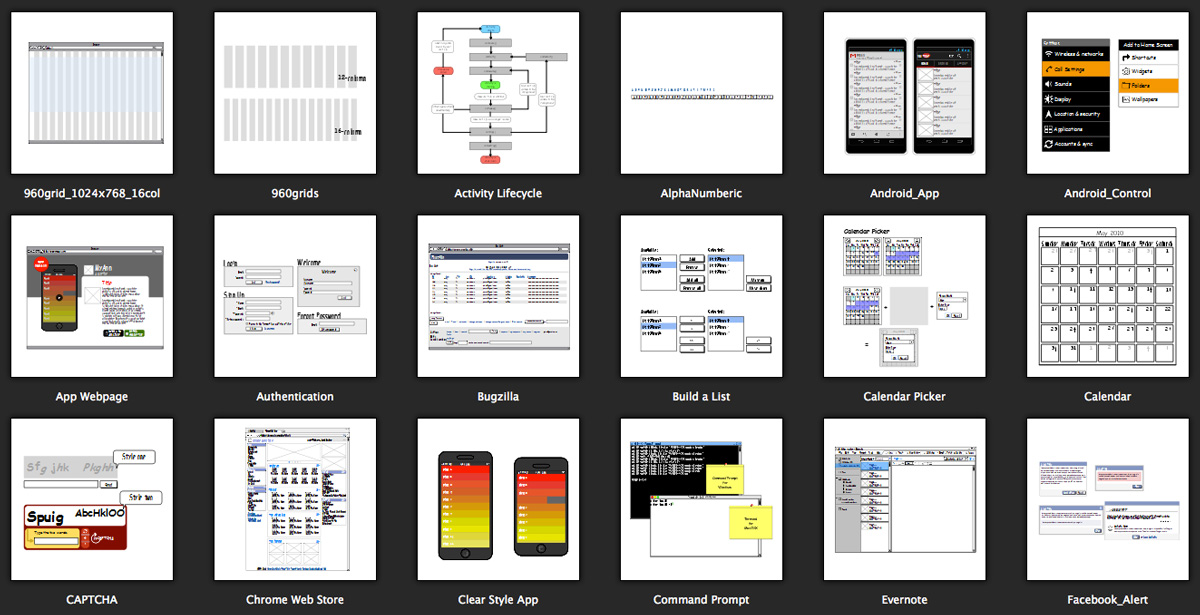 Wireframing Options