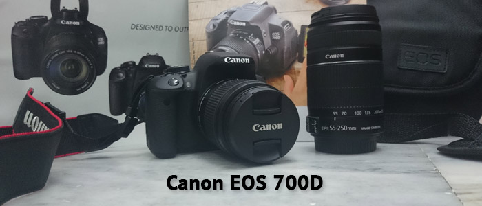 Canon EOS 700D Photography with Kit Lens