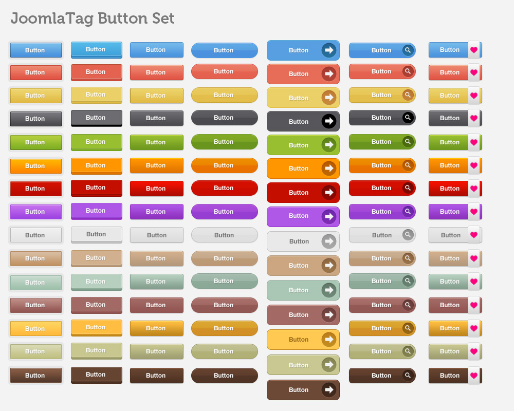 Editable Call To Action Buttons