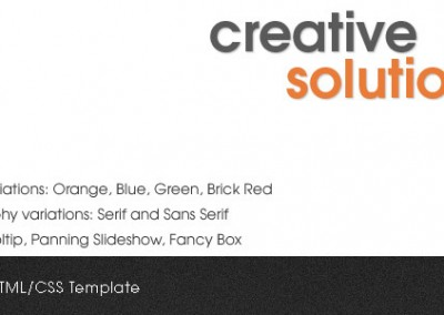 Creative Solutions HTMLTemplate