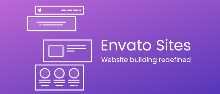 Build your next website with Envato Sites