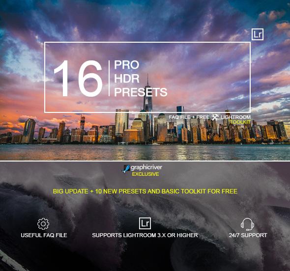HDR Landscape Presets