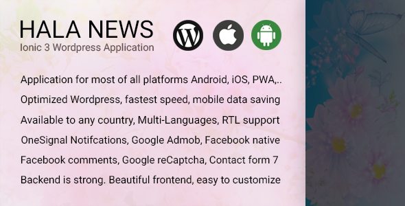 Hala News Mobile App