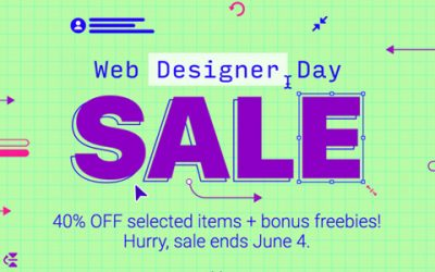 Celebrate this Web Designer's Day with Heavy Discounts from Envato