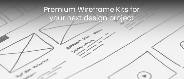 5 Premium Wireframe Kits for your next design project